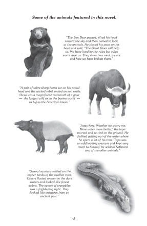 Animals from the Book